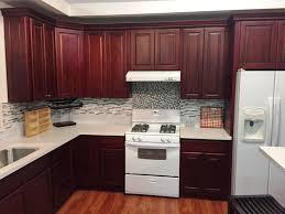 cherry finish square maple kitchen cabinets