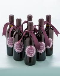 wine bottle wedding favors mini wine bottle favors with custom labels designed by minted