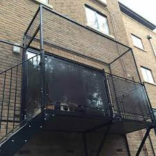 cat proof balcony u0026 cat fence for balcony