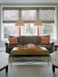 livingroom bench gray living room decor with orange meliving b46ddfcd30d3
