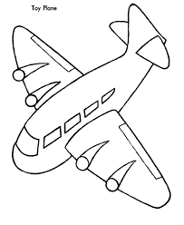 plane coloring printable airplane coloring pictures