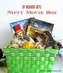diy christmas gift ideas for neighbors nifty movie box
