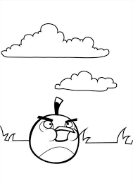 kids fun 42 coloring pages angry birds