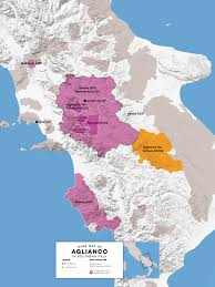 Map Of Italy With Regions by All About Aglianico Wine From Taste To Pairing Wine Folly