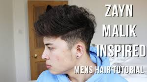 men u0027s hair tutorial 2016 zayn malik inspired messy quiff youtube