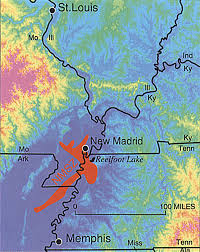 United States Fault Lines Map by About New Madrid St Charles County Mo Official Website