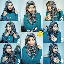 tutorial hijab pashmina untuk anak sekolah fashion hijab anak sekolah
