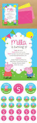 Kids Halloween Birthday Party Invitations by Best 25 Peppa Pig Birthday Invitations Ideas On Pinterest Peppa