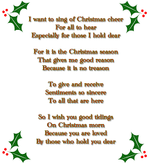 7 family christmas poems merry christmas