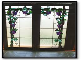 frosted glass french door stained glass french doors choice image glass door interior