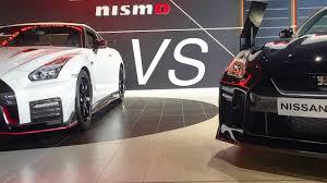gtr nissan nismo 2017 2017 nissan gtr nismo vs 2017 nissan gtr youtube