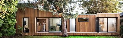 backyard architecture this prefab london backyard studio is as cool as a custom cottage