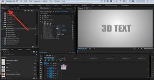 tutorial of adobe premiere cs6 adobe premiere pro tutorial create a 3d extruded text make your