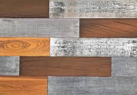 Wood Wall Design Smart Wall Paneling 3d Mixed Wood Reclaimed Diy Smart Wall Planks