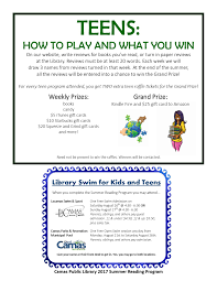 Games To Play At Your Desk by Summer Reading Program