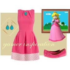 Mario Princess Peach Halloween Costume Diy Princess Peach