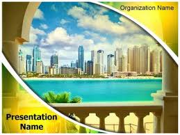 dubai tourism powerpoint template is one of the best powerpoint