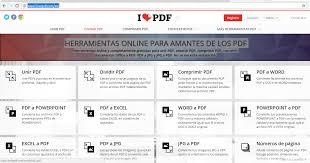 varias imagenes a pdf online para convertir pdf a word excel y otros unidad educativa fiscal