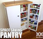 Free Woodworking Plans Kitchen Cabinets by Free Pantry Plans Woodworking Plans And Information At