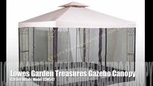Replacement Canopy by Replacement Canopy For The Lowes Garden Treasures Classic 10x10