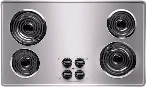 36 Inch Downdraft Electric Cooktop Coil Cooktops