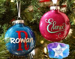 personalized balls ornaments rainforest islands ferry