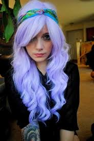 periwinkle hair style image violet locks with headband i wish my style pinterest