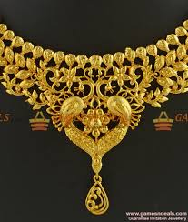 choker necklace jewelry images Nckn283 grand bridal choker necklace design party wear imitation jpg