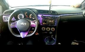 Scion Interior Car Interior Vinyl Wrap Dashboard Wrap Star Car Wraps Dania