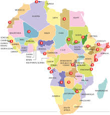 africa map before colonization the dividing of a continent africa s separatist problem the