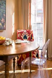 antique accent chairs kitchen eclectic with window treatments