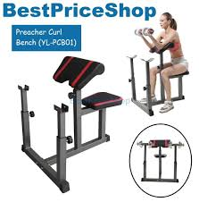 Bench Bicep Curls Preacher Curl Gym Fitness Chair Barb End 2 21 2018 8 03 Pm