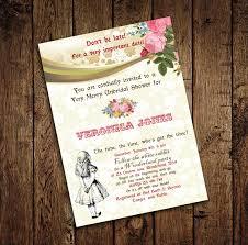 alice in wonderland mad hatter bridal shower tea party