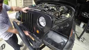 jeep wrangler yj dashboard jeep wrangler yj headlight conversion kit yj conversions youtube
