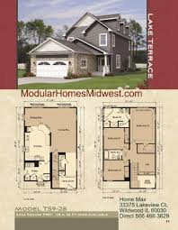 Narrow Home Floor Plans by Modular Homes Illinois Photos