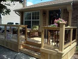 Wood Patio Deck Designs Best 25 Front Deck Ideas On Pinterest Low Deck Decking Ideas