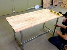 Industrial Standing Desk by The Standing Desk Video That Ijessup And Ellecoleman Made Is