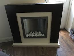 used next electric fire place opus mango suite in tn23 ashford for