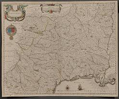 Maps Of New England by Map Lot Four Early Maps Of New England Cremona Languedoc And