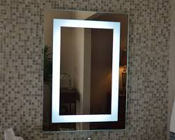 led lit mirrors led bathroom wall mirrors best lighting for