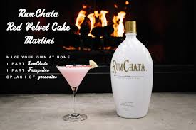 red martini bottle rumchata on twitter