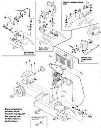 emglo parts k1a 8p k15a 8p k2a 8p air compressor