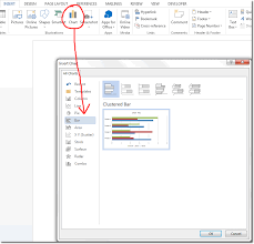 How To Put An Excel Table Into Word Bar Chart In Word