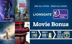 don u0027t miss out on our universal movie bonus crown club members