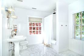 wainscoting ideas for bathrooms wainscoting small bathroom ideas bauapp co