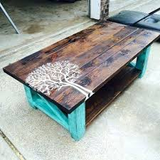 Plans For Wooden Coffee Table by Homemade Wood Coffee Table U2013 Thelt Co