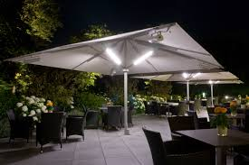Patio Umbrella Led Lights by Umbrella Accessories Lights Giant Patio Umbrellas