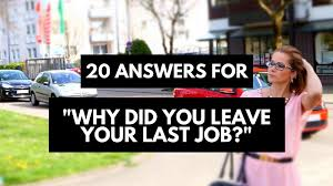 Reason For Leaving Job In Resume by Why Did You Leave Your Last Job Best Answers U2022 Career Sidekick