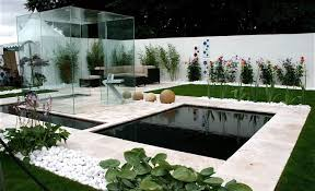 White Rocks For Garden by Modern Garden Design With Ornamental Grasses And Rocks Outdoor
