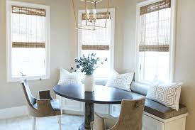 banquette with round table curved banquette oval dining table design ideas